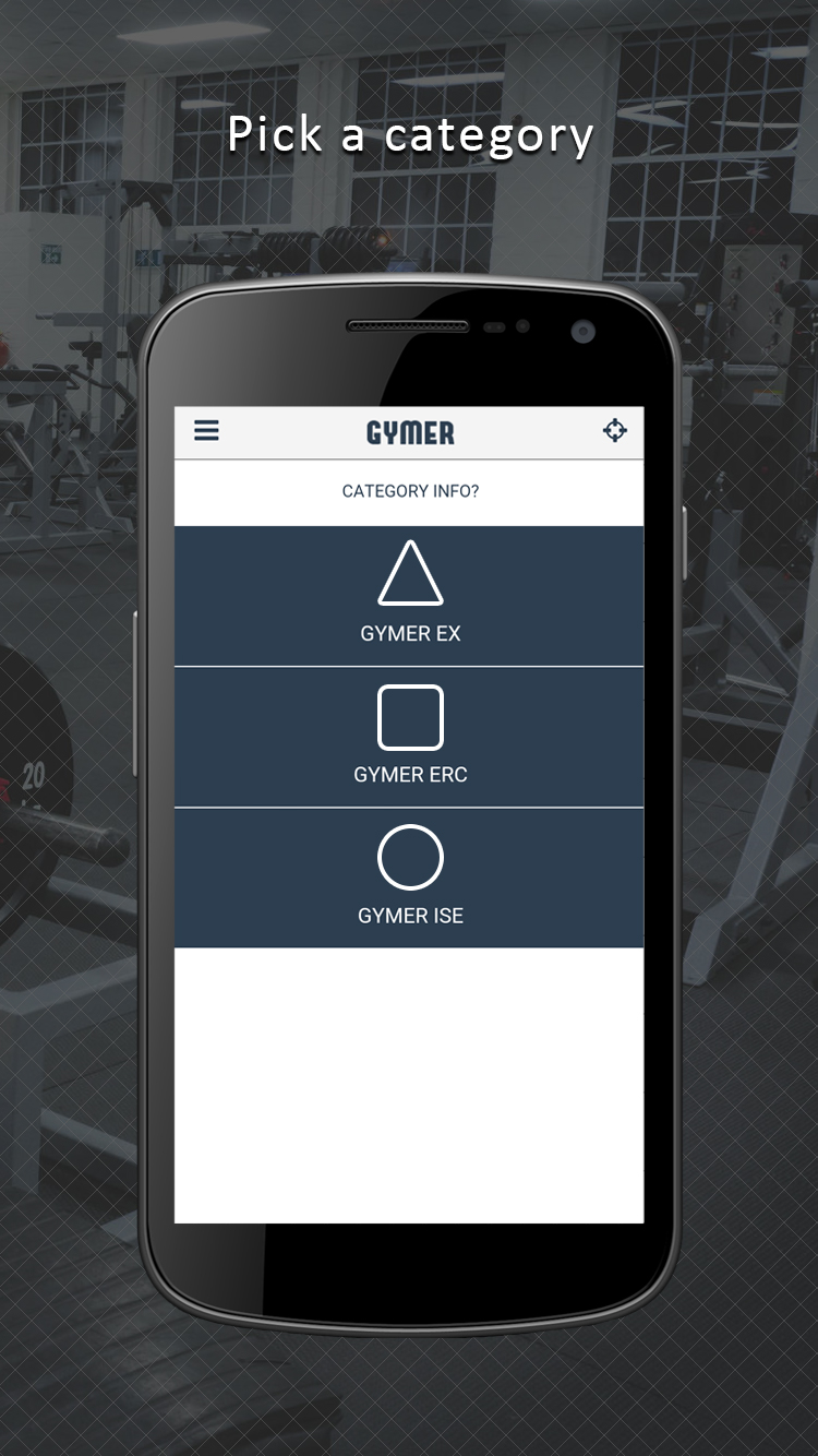 With no upfront membership fees, users can workout on an hourly basis and pay as they go with Gymer.