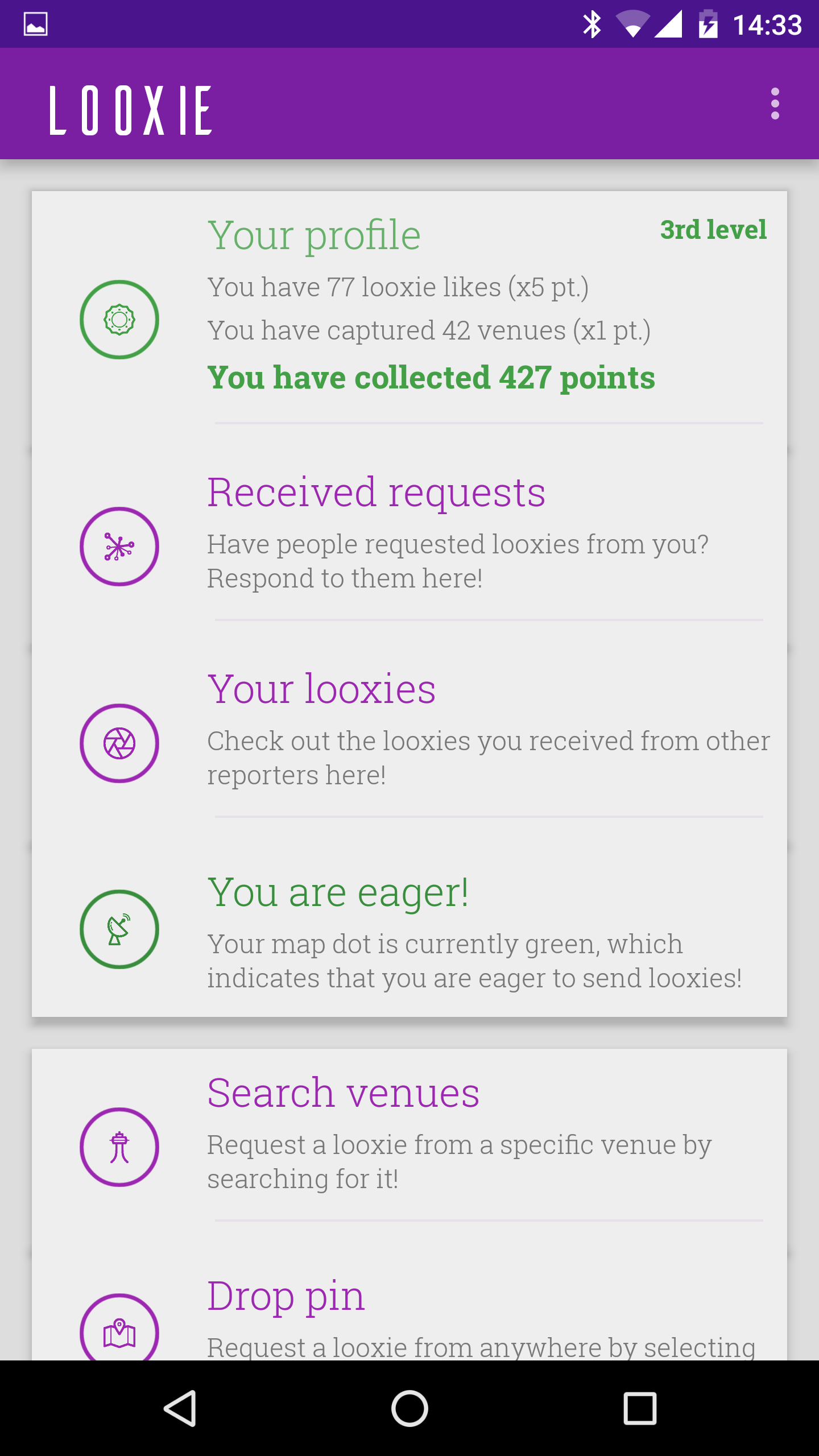 Looxie, a location-based photo request app is out for Android.